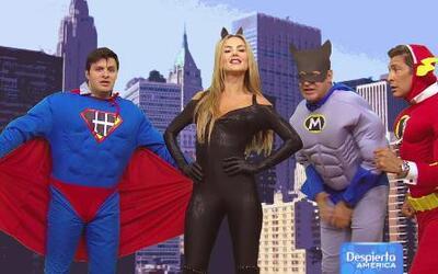 Los Superhéroes hicieron hasta lo imposible por conquistar a Súper Minina