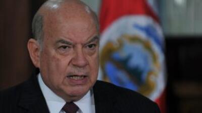 El Secretario General de la OEA, José Miguel Insulza, dijo que la soluci...