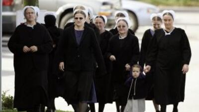 Los Amish son una comunidad de familias que viven en el campo, no utiliz...
