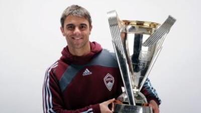 'El Piojo' López está en la MLS y acaba de salir campeón con el Colorado...