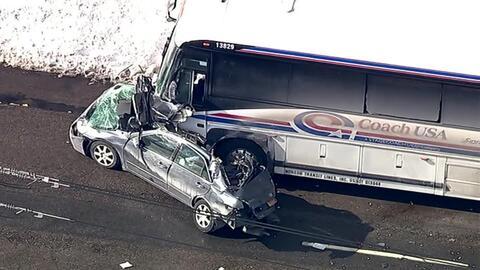 'Nueva York en un Minuto': Un aparatoso accidente deja una persona muert...