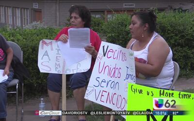 Decenas de familias serán víctima de desalojo