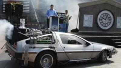 A subasta el auto de Volver al Futuro