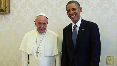 El histórico encuentro entre el Papa Francisco y Barack Obama