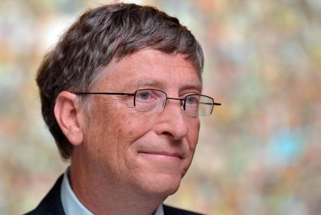 9.- Bill Gates: El presidente de Microsoft tiene un gusto sumamente clás...