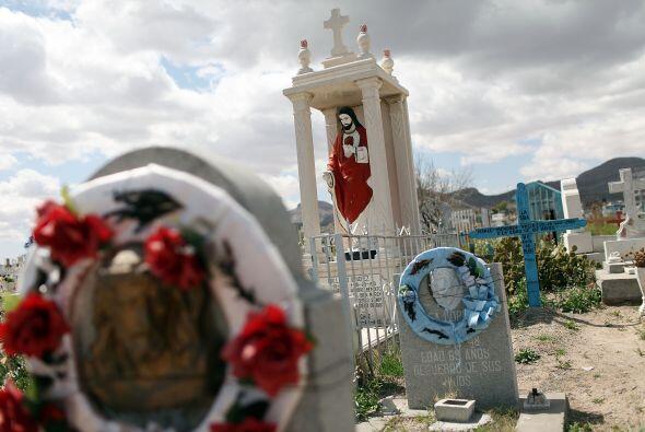 La fama de este cementerio entre los narcotraficantes al parecer se inic...