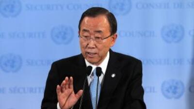 Ban pidió a los presidentes de ambos países, Omar el-Béchir (Sudán) y Sa...