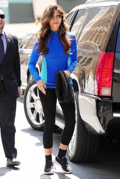 La modelo y esposa del actor Matthew McConaughey, Camila Alves regresó a...