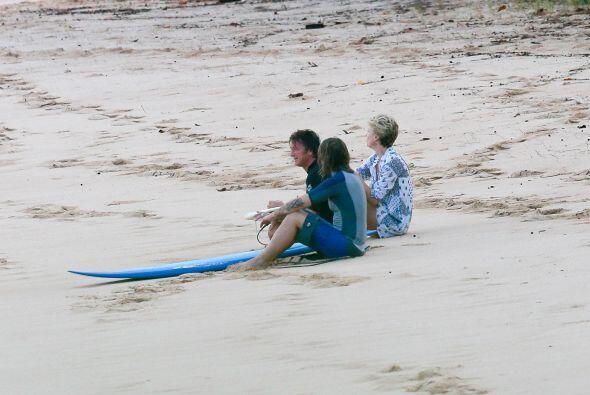 Pero eso de tomar vacaciones juntos y solitos está un poco raro....