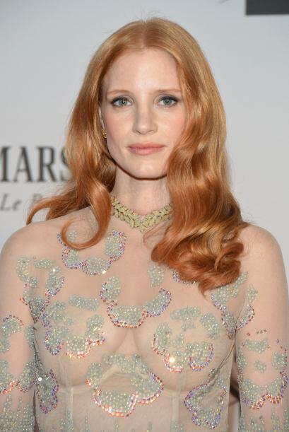 "32. JESSICA CHASTAIN Nominada al Oscar por ""Zero Dark Thirty"",..."