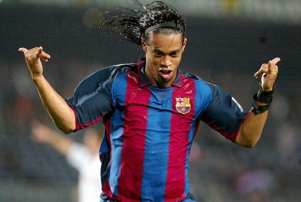 Para sorpresa de muchos Dinho marcaría su primer gol con los espa...