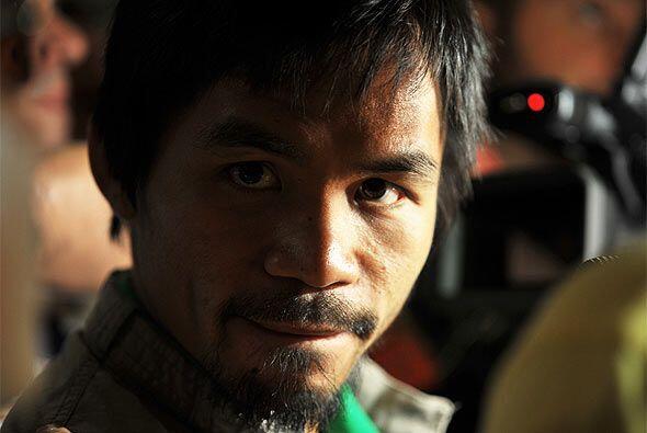 Manny Pacquiao, seis veces campeón del mundo, buscará arre...