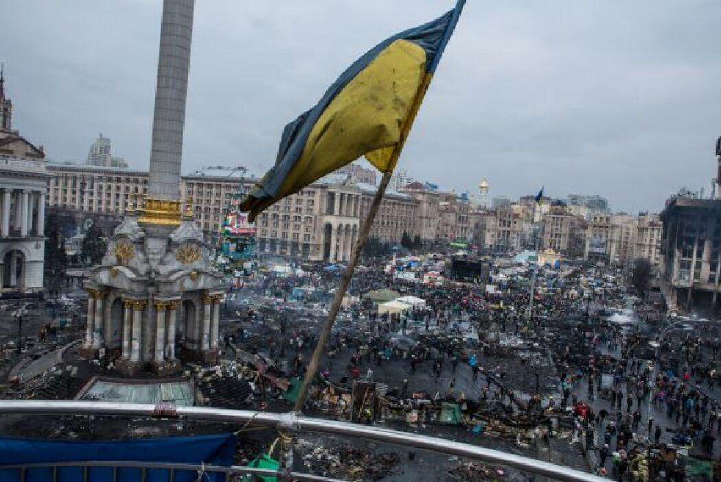 Diversas regiones de Ucrania son escenario de una abierta sublevación co...
