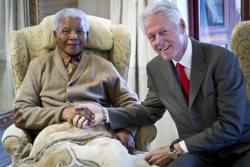 La reunión se llevó a cabo en la víspera de su cumpleaños 94.