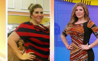 Historia de éxito: Su familia la motivó a perder más de 40 libras
