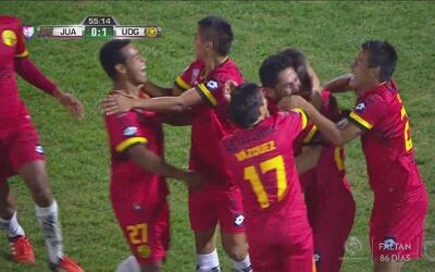 Adrián Villalobos marca un golazo de larga distancia para Leones Negros