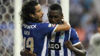 Jackson Martínez y el Porto dieron cuenta del Marítimo.