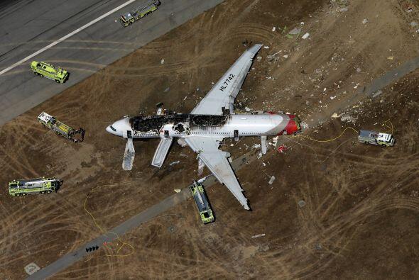 Lee Kang-kuk, el piloto encargado, trató de corregir su curso cua...