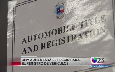 Anuncian aumento en tarifas del registro de vehículos