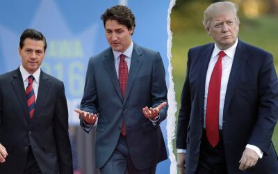 Trump parece estar más cerca de su amenaza de sacar a EEUU del NAFTA
