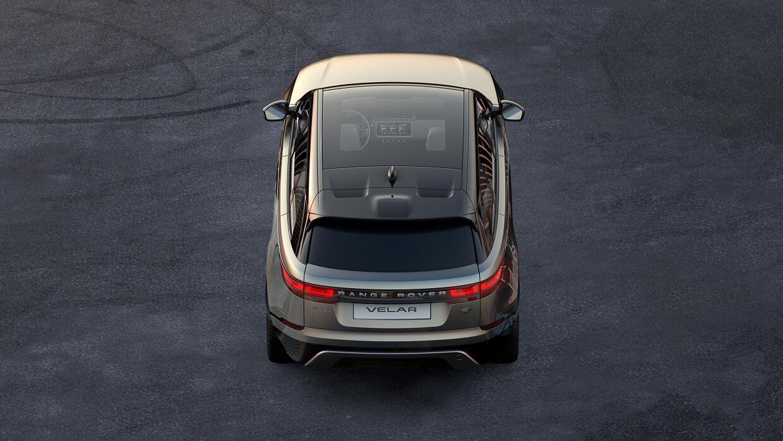 Vista posterior de la nueva Range Rover Velar