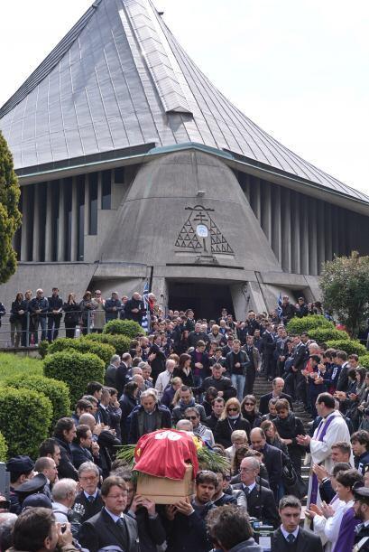El funeral se celebró en la iglesia de San Gregorio Bargarigo, en el bar...