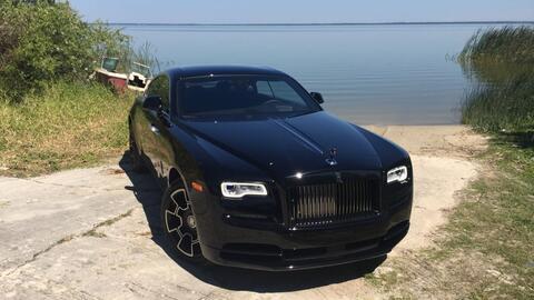 Descubriendo el lado oscuro de los más adinerados: Rolls Royce Wraith Bl...