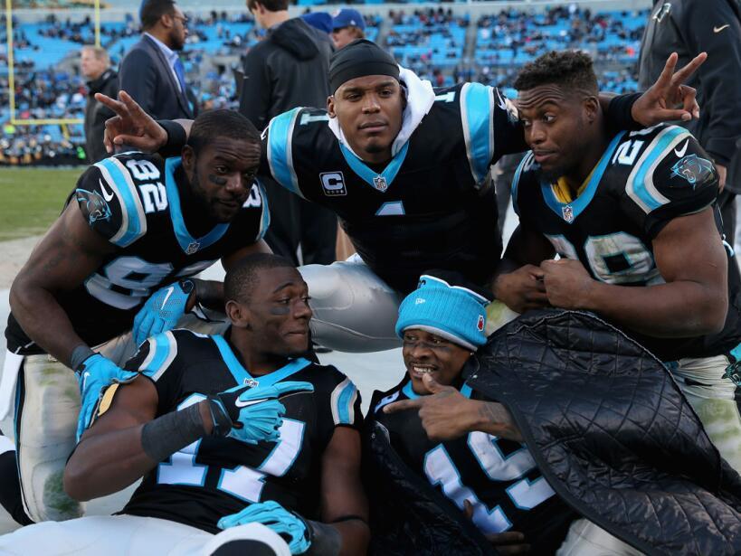 Cinco pases de TD de Cam Newton para que los Panthers mantengan el invic...