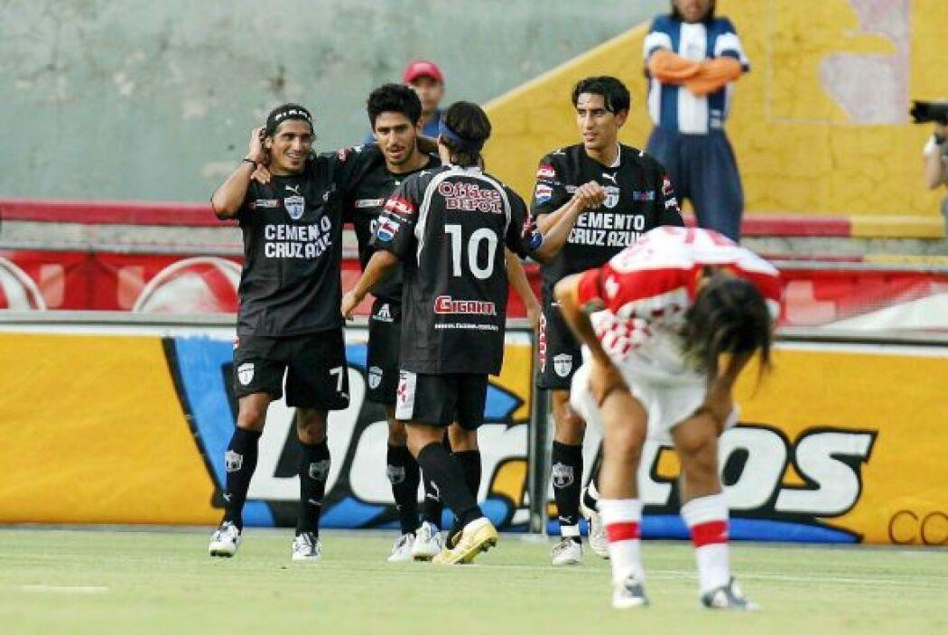 Los Tuzos del Pachuca son de los pocos equipos que consiguieron golear e...