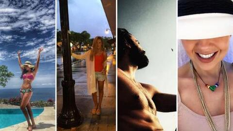 El verano y los famosos de telenovela