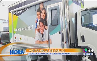 Servicios de salud del Consulado de México en Los Ángeles