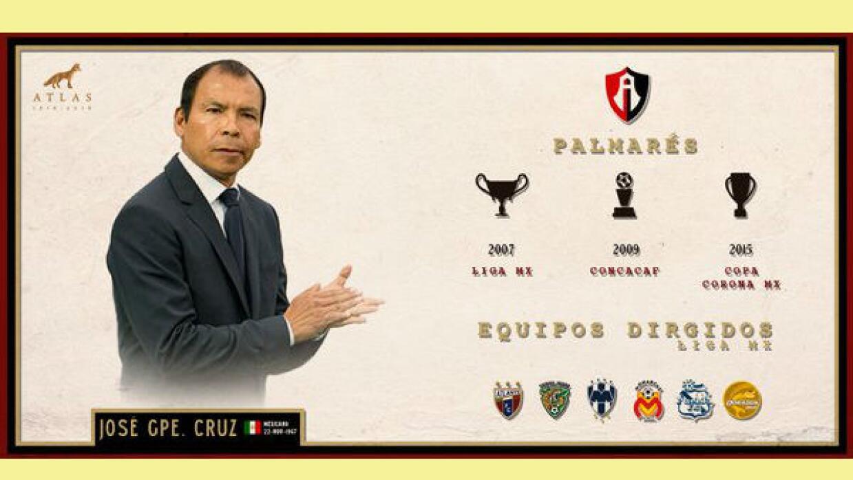 La Directiva del equipo rojinegro anunció a José Guadalupe...
