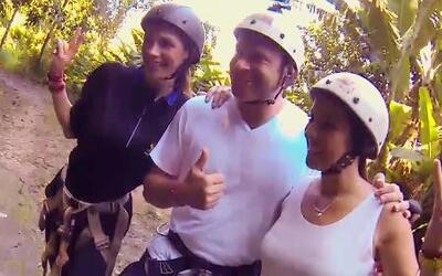 Maity, Alan y Cristi se divirtieron como niños en las selvas brasileñas