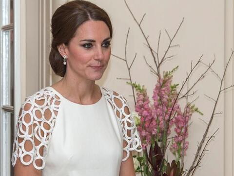 La duquesa de Cambridge nos sorprendió con su elección de...