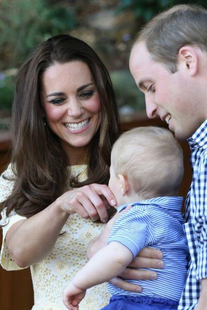 Mientras que Kate no paraba se reír.