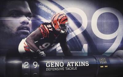 Top 100 Jugadores del 2016: (Lugar 29) DT Geno Atkins