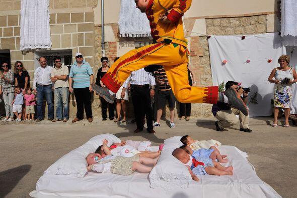 Se trata del Festival del Salto de Colacho.