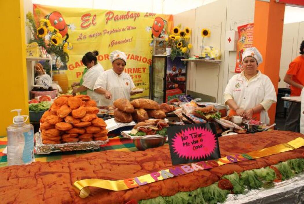 También torterías de Jalisco, Puebla con sus tradicionales cemitas...