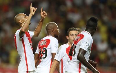Mónaco le pegó 3-1 al PSG