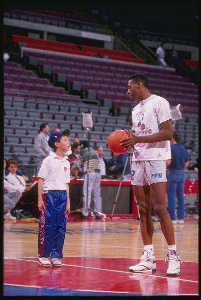 Denis Rodman tuvo noches memorables con los Detroit Pistons que vivían d...