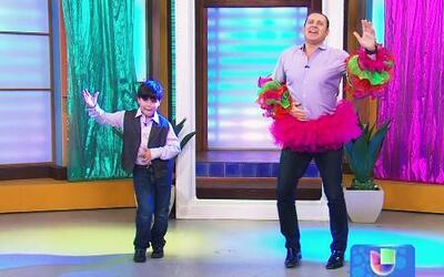 Mira las clases de baile que le dio Kevin a Alan