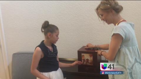 """Una niña y su madre dan a conocer el milagro de """"Joselito"""" en San Antonio"""