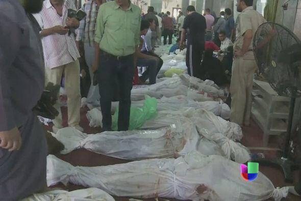El número de muertos por los enfrentamientos ocurridos el mi&eacu...