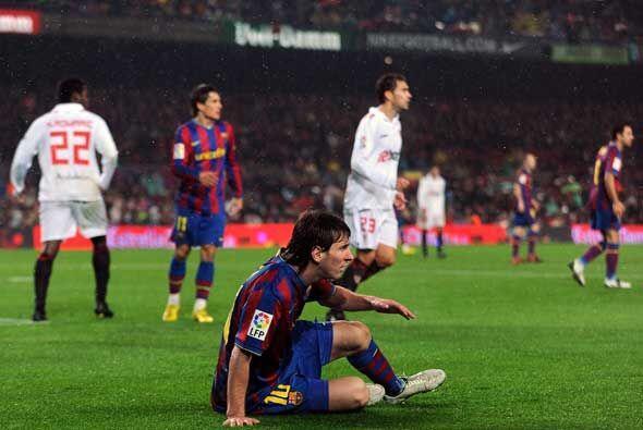 Sorpresa en el 'Camp Nou'. El Barcelona cayó 2-1 en su casa.