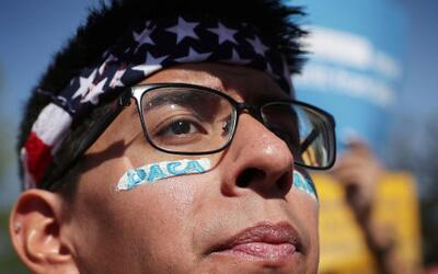 "A 2012 executive action, known as DACA, protects so-called ""Dreamer..."
