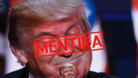 7 mentiras del discurso de Donald Trump en la Convención Republicana