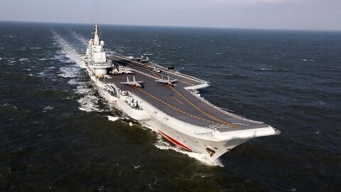 El portaaviones Liaoning se ha convertido en una de las principales arma...