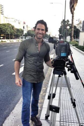 """El actor estuvo feliz porque grabó en su país natal algunas escenas de """"..."""