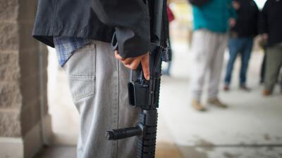 Un hombre armado en EEUU. (Imagen de Archivo).