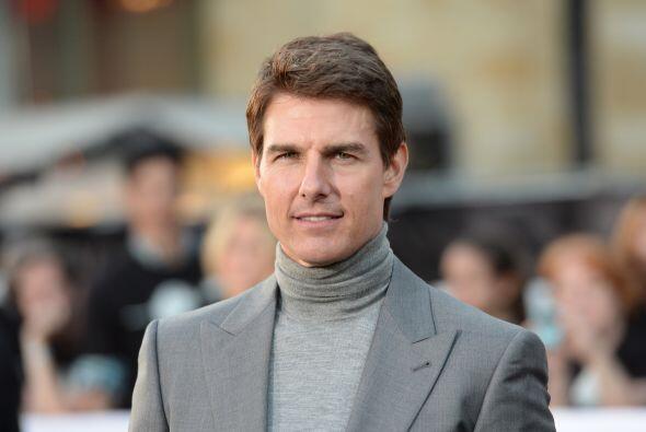 Tom Cruise está en la posición número 8 de Forbes....